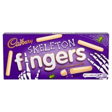Cadbury Fingers White Chocolate Biscuits 138G
