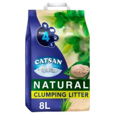 Catsan Biodegradable Natural Clumping Cat Litter 8L