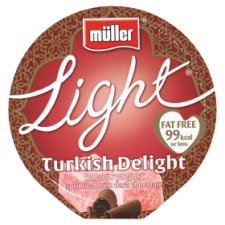 Muller Light Turkish Delight Yogurt 165G