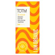 Totm Applicator Tampons Regular 16