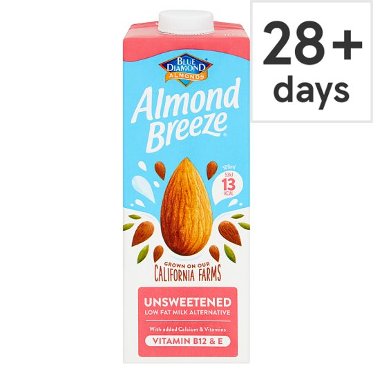 Almond Breeze Unsweetened Longlife Milk Alternative 1 Litre