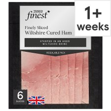 Tesco Finest Wiltshire Finely Sliced Ham 125G