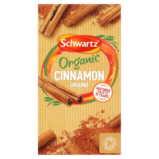 Schwartz Ground Cinnamon Organic Refill 20G