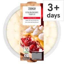 Tesco Strawberry Trifle 600G