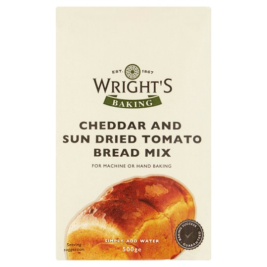 Wrights Cheddar And Sundried Tomato Bread Mix 500G