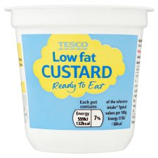 Tesco Ready To Eat Low Fat Pot Custard 150G