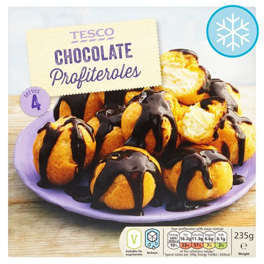 Tesco Profiteroles 235G