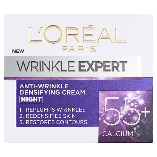 image 1 of L'oreal Paris Wrinkle Expert Night Time Cream 55+ 50 Ml