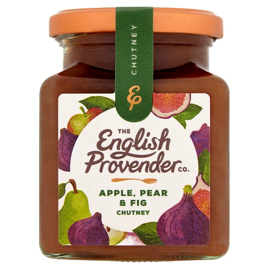 English Provender Apple Pear And Fig Chutney 310G