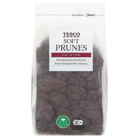 Tesco Wholefood Ready To Eat Prunes 1Kg