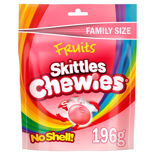 Skittles Fruit Chewies Pouch 196G