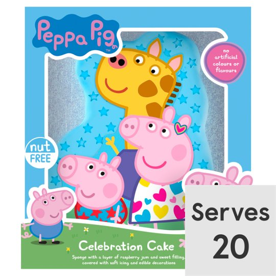 Peppa Pig Celebration Cake Groceries Tesco Groceries