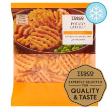 Tesco Potato Lattices 550G