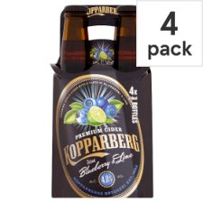 Kopparberg Blueberry And Lime 4 X 330Ml Bottle