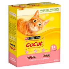 image 1 of Go Cat Salmon And Vegetable 825G