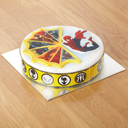 Cake With Photo Tesco : Spiderman Celebration Cake - Groceries - Tesco Groceries