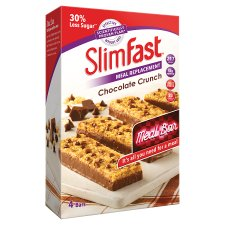 Slimfast Chocolate Meal Bar 240G (4X60g)