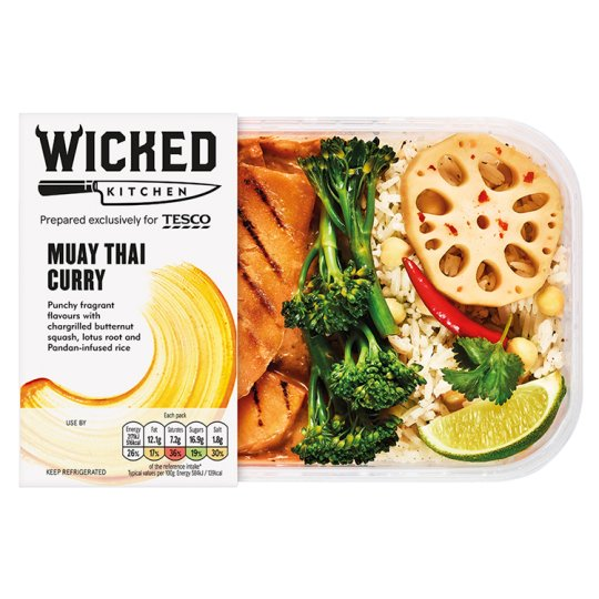 Wicked Kitchen Muay Thai Curry 400G