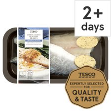 Tesco 2 Lemon And Pepper Sea Bass Fillets 200G