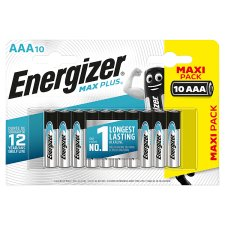 Energizer Max Plus Aaa 10 Pack