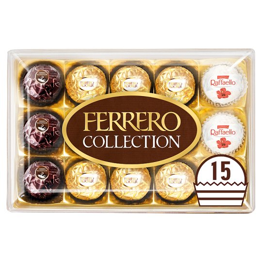 Ferrero Collection 15 Pieces Boxed Chocolates 172G