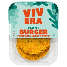 Vivera 2 Pumpkin Sweet Potato Burgers 200G