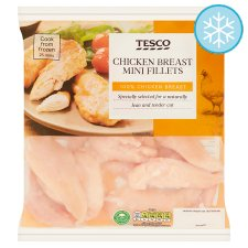 Tesco Mini Chicken Breast Fillets 500G