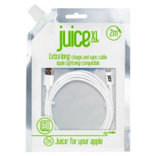 Juice Lightning Data Cable 2M White