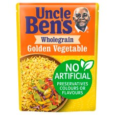 Uncle Bens Microwave Wholegrain Vegetable Medley Rice 250G