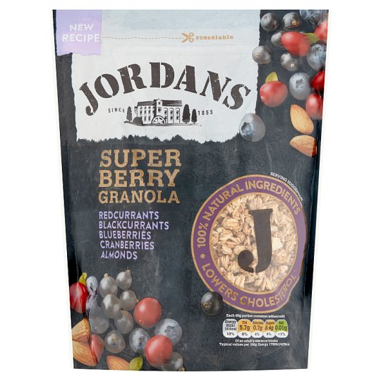 image 1 of Jordans Super Berry Granola 550G