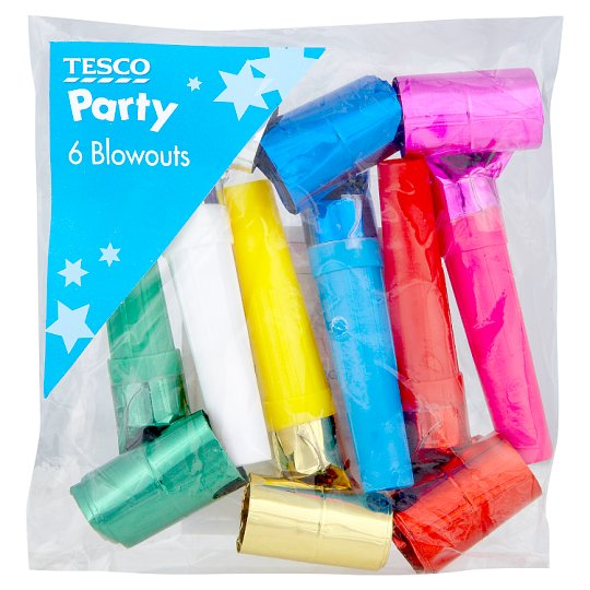 Tesco 6 Party Blowouts