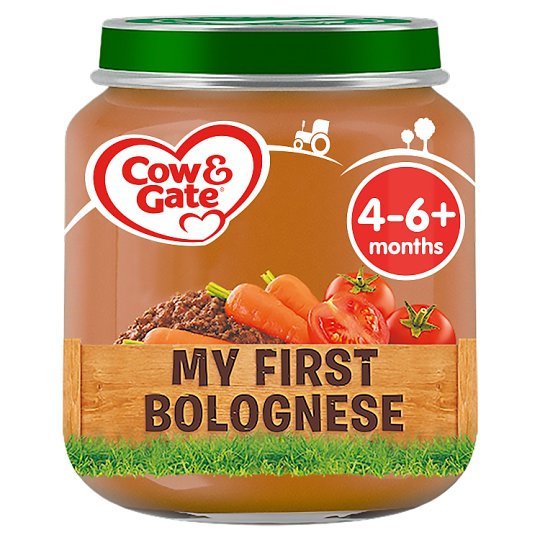 Cow And Gate My First Bolognese Jar 125G 4 Mth+