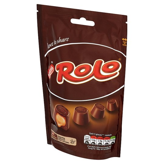 Rolo Milk Chocolate Pouch 126G