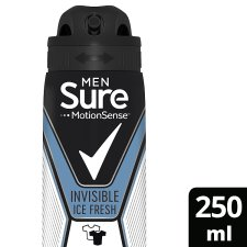 Sure Men Invisible Ice Fresh Antiperspirant Deodorant 250Ml