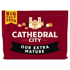 Cathedral City Extra Mature Cheddar Cheese 550 G