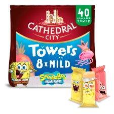 Cathedral City Kids Towers Cheese 8X12g