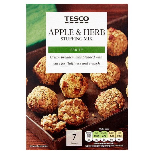 Tesco Apple And Herb Stuffing Mix125g