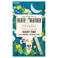 Heath And Heather Organic Soft Sleepy Night Time 20G