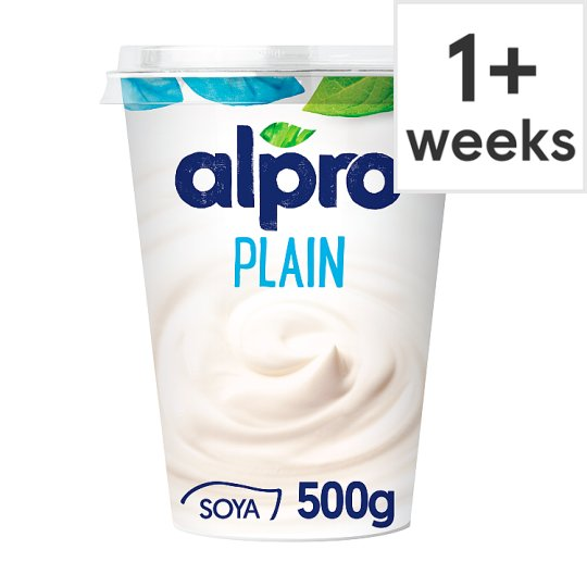 Alpro Big Pot Plain Yogurt Alternative 500G