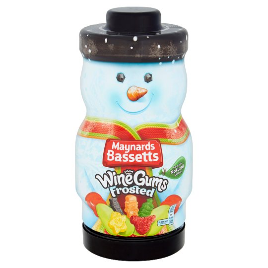 Maynardsbassetts Frosted Wine Gum Jar 495G