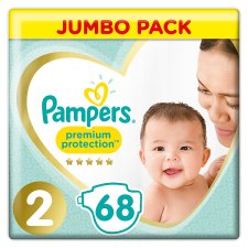 Pampers New Baby Large Pack Size 2 68 Nappies