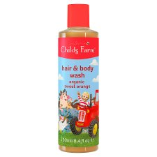 Childs Farm Organic Orange Hair And Body Wash 250Ml