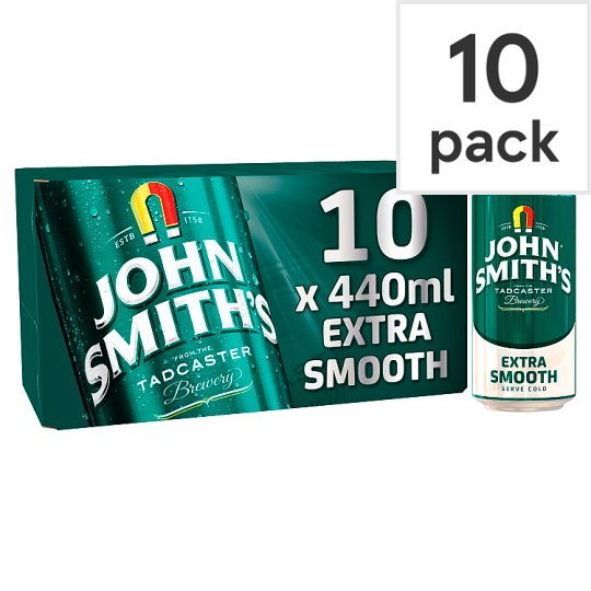 John Smiths Extra Smooth 10X440ml Cans