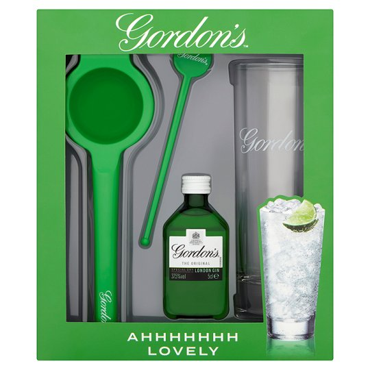 Gordons Perfect Serve 5Cl Gift Pack - Groceries - Tesco Groceries