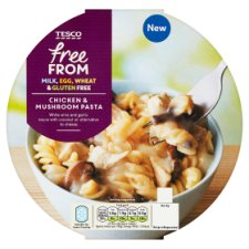 Tesco Free From Chicken Mushroom Pasta 400G
