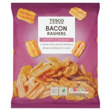Tesco Bacon Rashers Snacks 150 G