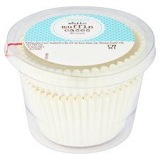 Tesco 50 White Muffin Cases