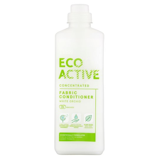 Tesco Eco Active Fabric Conditioner White Orchid 750Ml