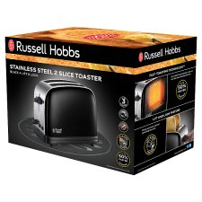 Russell Hobbs Colours 2 Slice Toaster Black