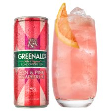 image 2 of Greenalls Gin And Pink Grapefruit 250Ml